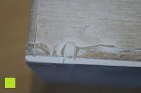 Kante vorne: Eurosell Holz Schreibtischorganizer Brief Post Ablage Briefablage Postablage Briefständer Vintage Retro Design Designer Dokumenten Prospekte Ständer