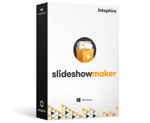 برنامج عمل سلايد شو بالصور Fotophire Slideshow Maker