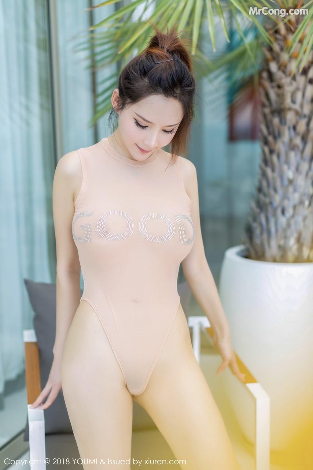 Image YouMi-Vol.150-Tu-Fei-Yuan-Ai-Cuo-Qiong-MrCong.com-004 in post YouMi Vol.150: Người mẫu 土肥圆矮挫穷 (49 ảnh)