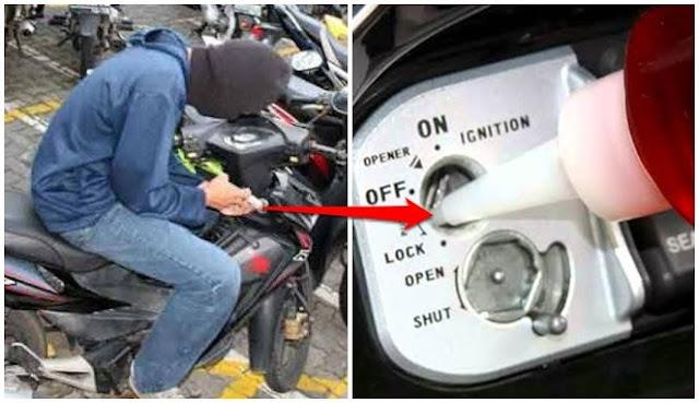 Mengungkap, 5 Kehebatan Maling Motor Hanya 1 Menit Menggasak Motormu