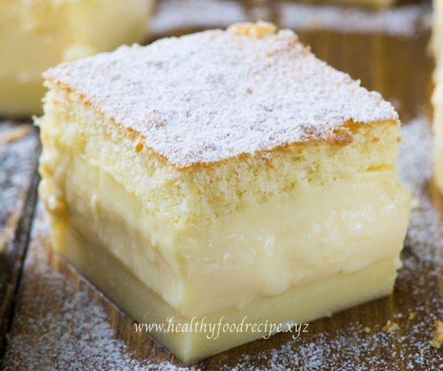 VANILLA MAGIC CUSTARD CAKE RECIPES