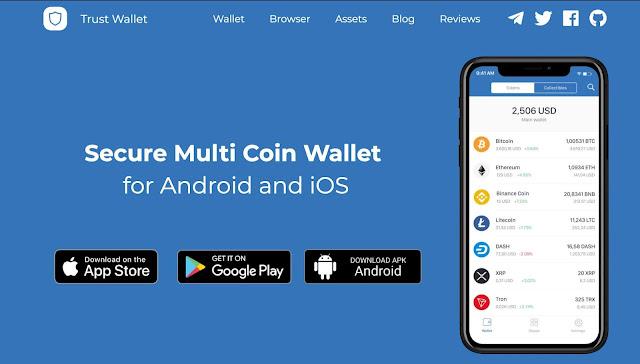محفظة trust-wallet