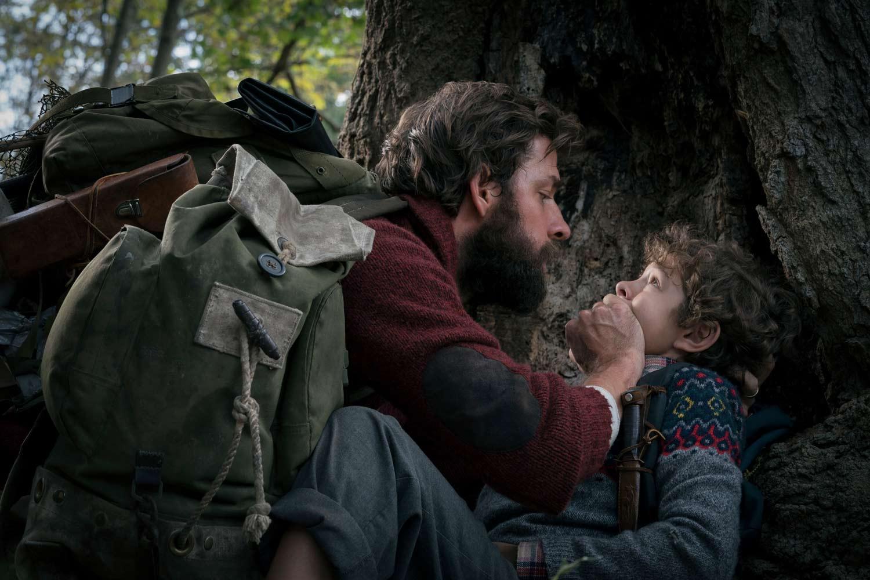 UN LUGAR TRANQUILO - John Krasinski y Noah Jupe