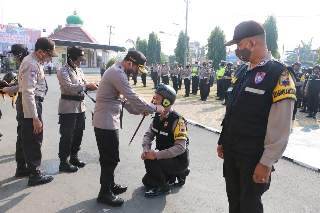 90 Pak Bhabin Polres Kebumen Siap Beraksi