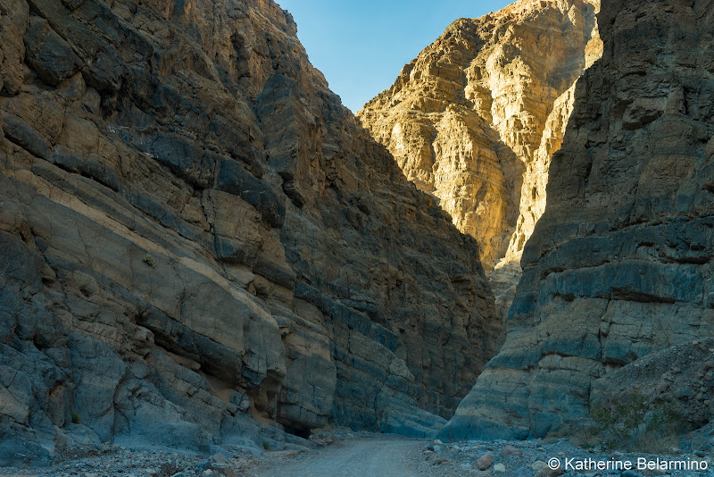 Titus Canyon Death Valley Road Trip Itinerary