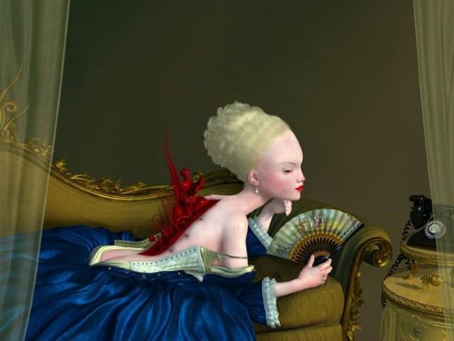 Сюрреализм в живописи. Ray Caesar 5