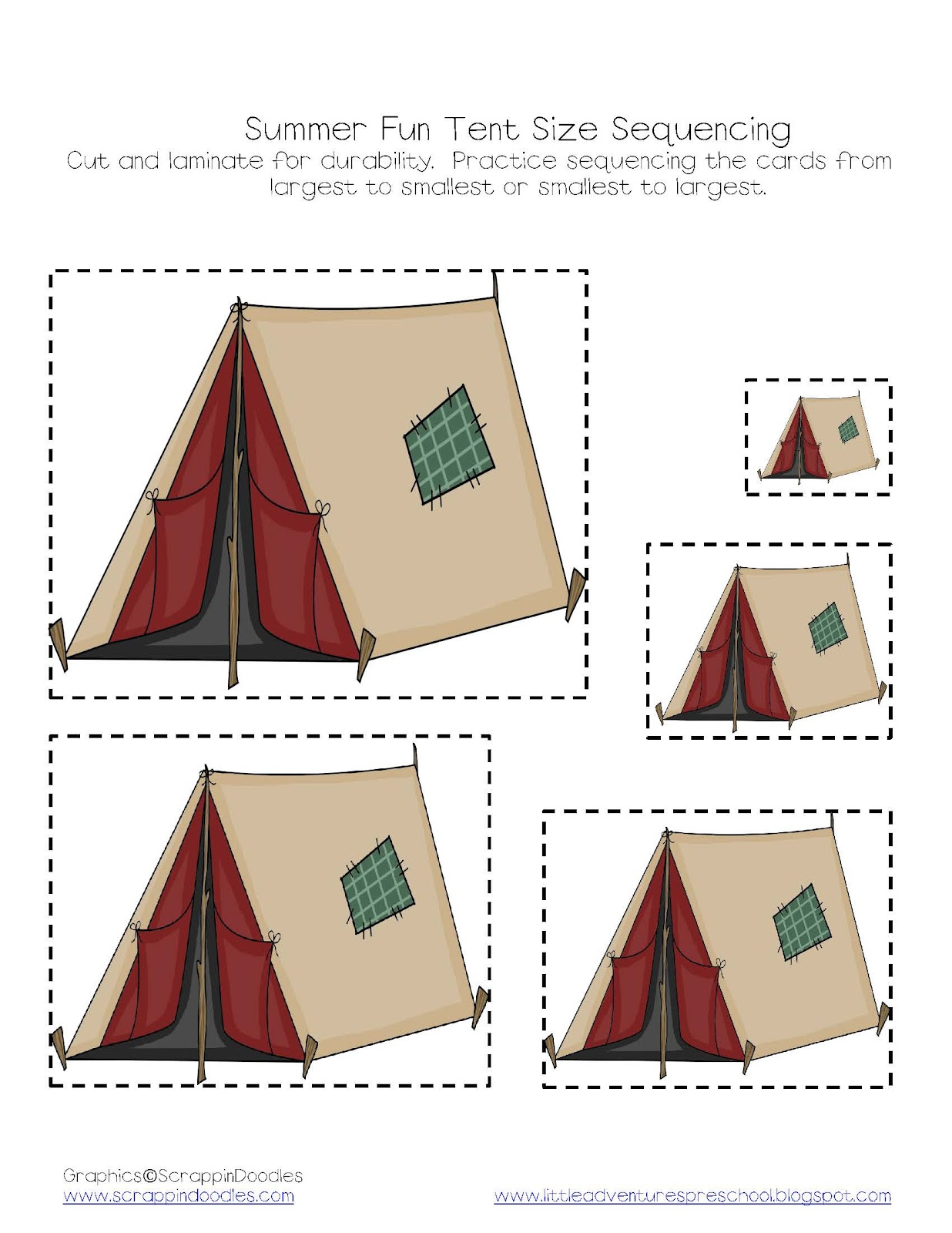 Little Adventures Preschool Printables Introduction And Assembly