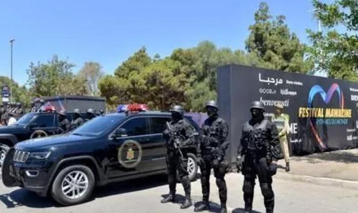 "b33d28092 تعبئة 5 آلاف شرطي لتأمين فعاليات مهرجان ""موازين"""