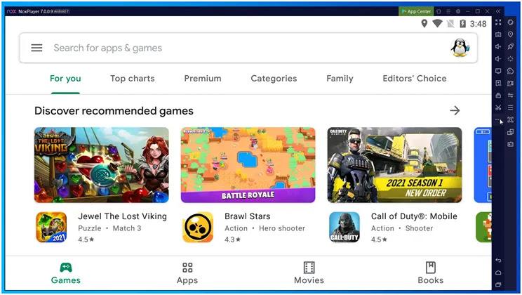 NoxPlayer  : Ο ταχύτερος εξομοιωτής Android για τα Windows