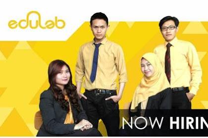 Lowongan Kerja Edulab Pekanbaru September 2018