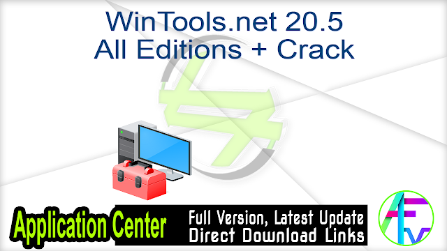 WinTools.net 20.5 All Editions + Crack