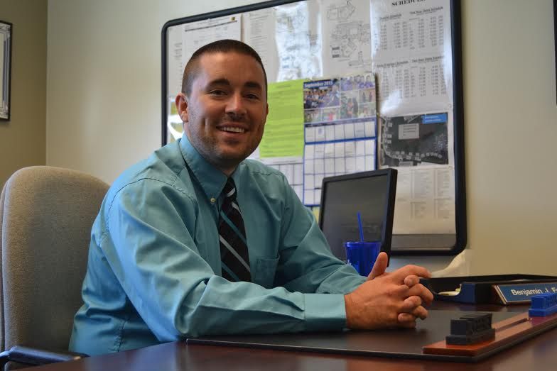 A New Doctor In Town Assistant Principal Benjamin Feeney Earns