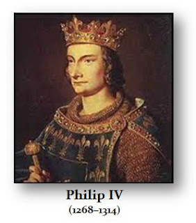 Philip the Fair, Philip IV of France, France, medieval history, this day in history