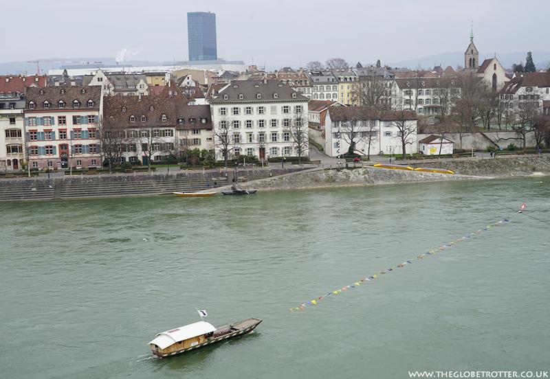 Basel - River Rhine
