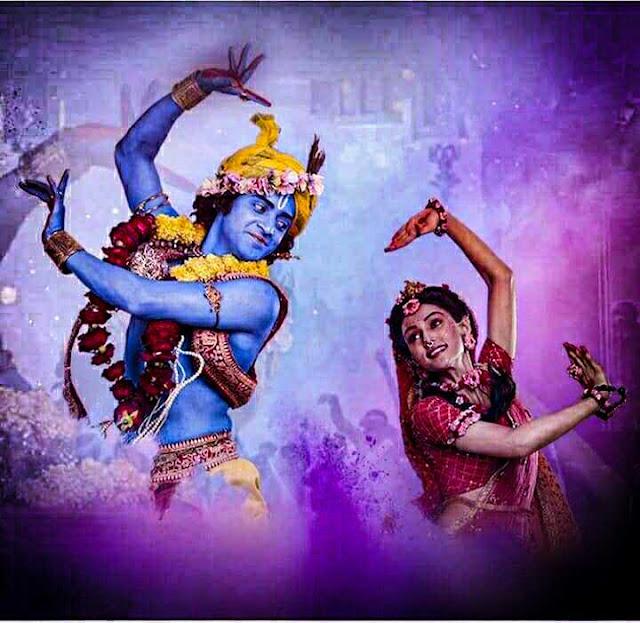 Radha krishna serial : holi song status download