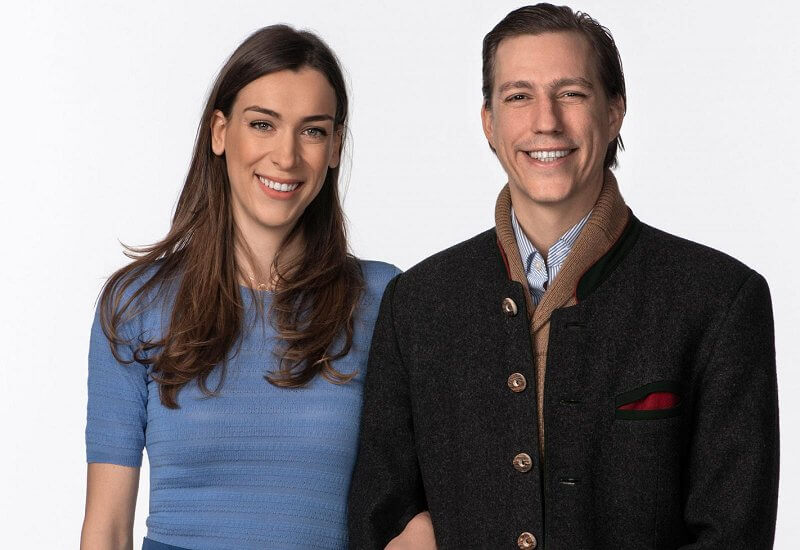 Grand Duchess Maria Teresa and Grand Duke Henri. Lawyer Scarlett-Lauren Sirgue, Prince Gabriel and Prince Noah. Princess Stephanie
