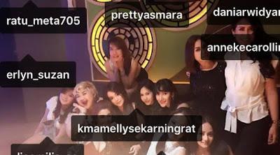 gambar Pretty Asmara dan 7 artis ditangkap bersamaan karena kepemilikan Narkoba