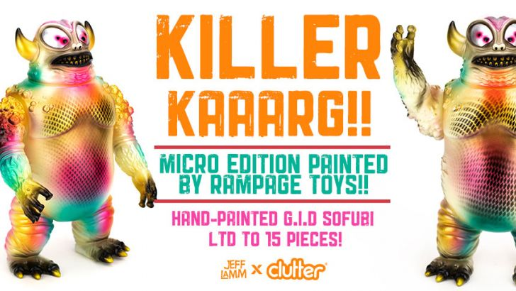 The Blot Says Killer Kaaarg Vinyl Figure By Rampage Toys X Jeff Lamm X Clutter