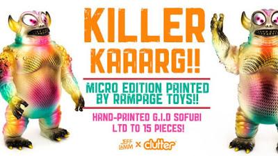 Killer Kaaarg Vinyl Figure by Rampage Toys x Jeff Lamm x Clutter
