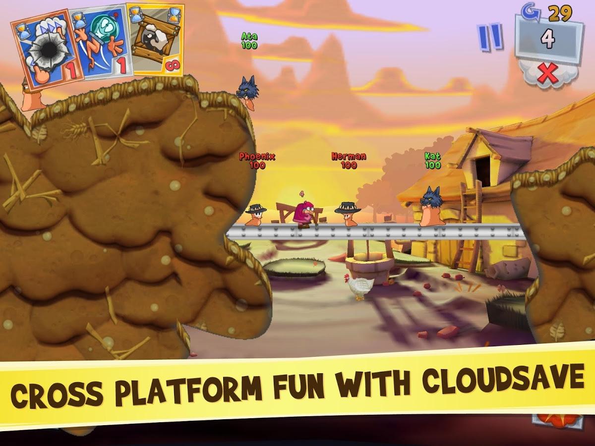 Worms 3 MOD APK terbaru