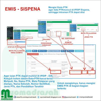 Sinkron Emis Sispena