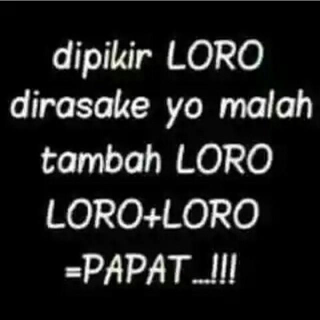 Lucu Sedih Bahasa Jawa