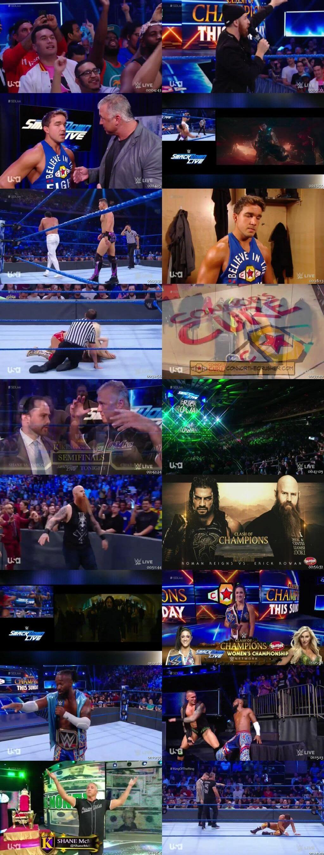 Screen Shot Of WWE SmackDown Live 10th September 2019 HDTV 480P 300MB