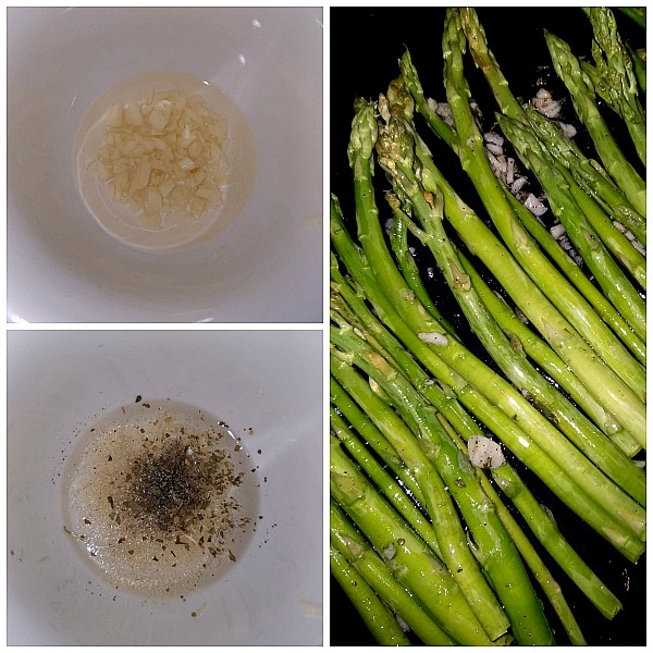 how to make oven roasted cheesy asparagus