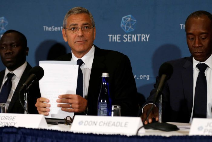 Sudanese War Profiteers Tracked by George Clooney's Sentry