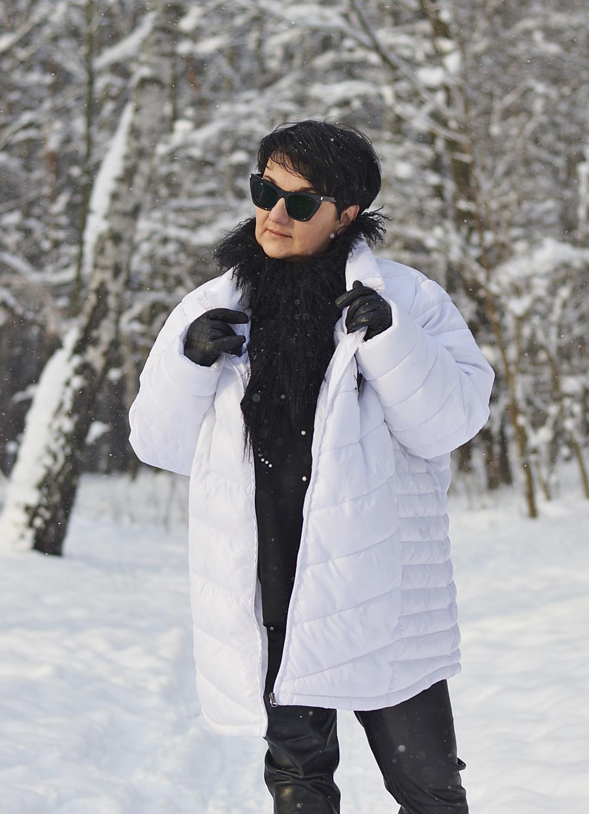 Oversize winter jacket