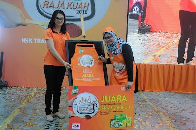 Siti Nor Yuwana menangi Cabaran Raja Kuah Knorr 2018