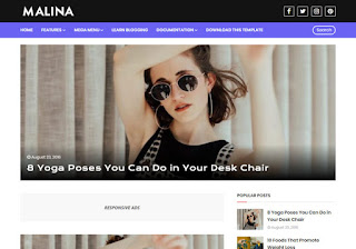Top 5 Responsive Blogger Template 2020