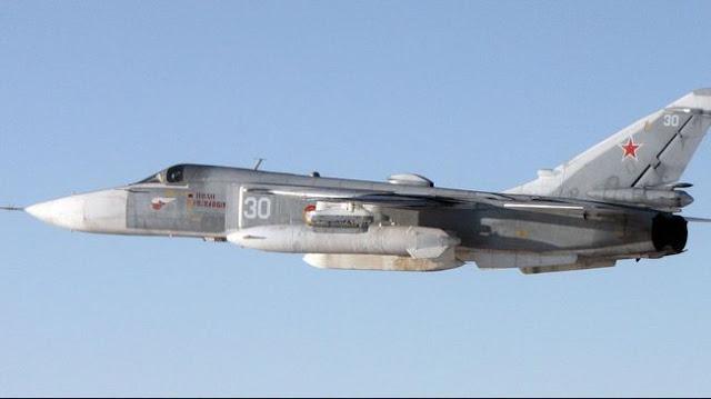 Jet Tempur Rusia Terbang Rendah Diatas Kapal Perang Amerika Serikat