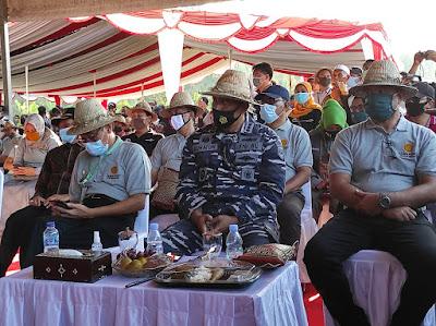 Danlanal Mataram hadiri Panen Pedet NTB Gemilang 2020