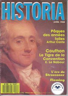 Revue Historia, 496 1988, le tigre de la convention