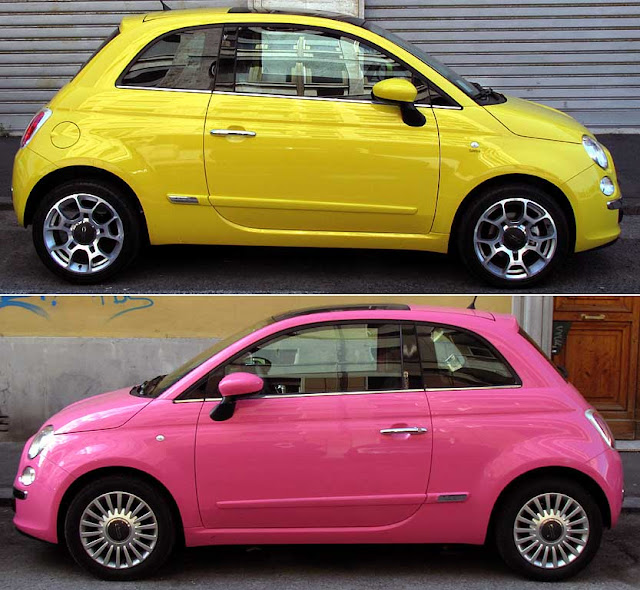 Two New Fiat 500, Livorno