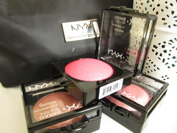 NYX Baked Blushes Illuminator + Bronzer
