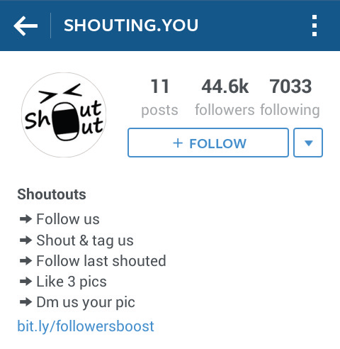 Teknik Promosi Shoutout for Shoutout di Instagram
