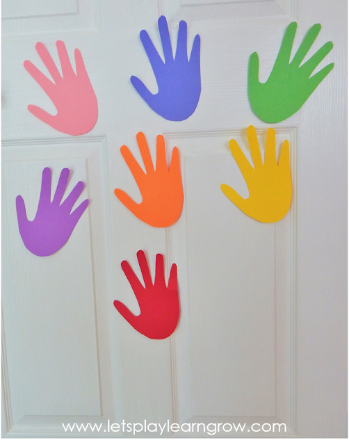 This fun color activity adds a whole new level of fun to learning colors for toddlers and preschoolers and is a great gross motor activity as well.