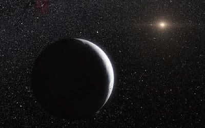 planeta enano escondido en nuestro sistema solar, imagen ilustrativa