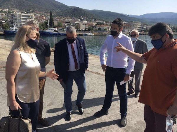 Στο λιμάνι της Στυλίδας ο βουλευτής του ΣΥ.ΡΙΖ.Α. – Προοδευτική Συμμαχία Γιάννης Σαρακιώτης