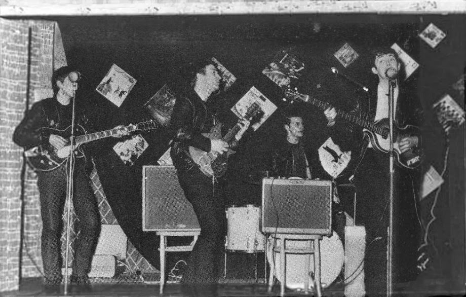 Rare And Unseen Photos Of The Beatles Playing To 18 People