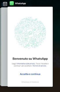 Riavviare WhatsApp