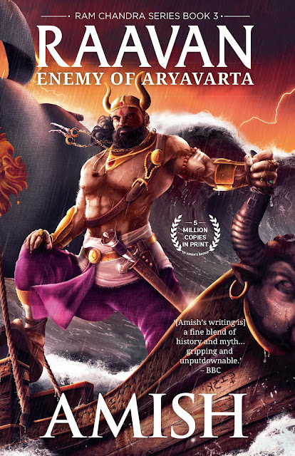 Book Review of Raavan  Enemy of Aryavarta By Amish Tripathi