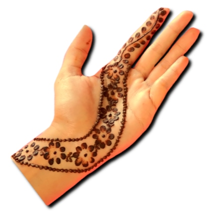 Stylish Easy Mehndi Design