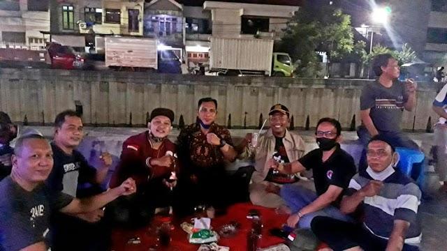 Merajut Kebersamaan, Wartawan Pewarta-Tambora Jalin Silaturahmi Bersama FORPETAB