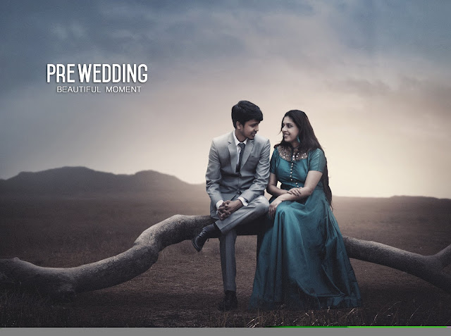 How to edit pre wedding photography - photoshop tutorial
