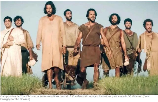 The Chosen, Autor diz que Deus está usando a série para alcançar ateus e agnósticos