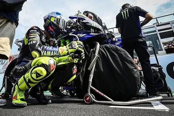 Gabung Tim Petronas Yamaha, Rossi Bisa Jajal Serkuit Indonesia