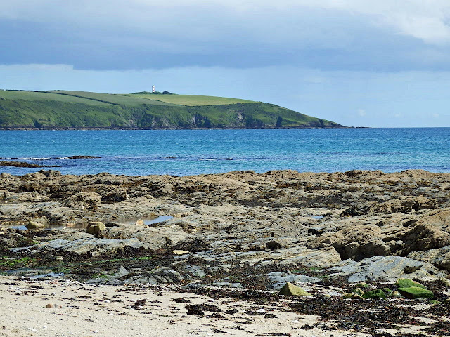 Looking across to Gribbin Head, Cornwall